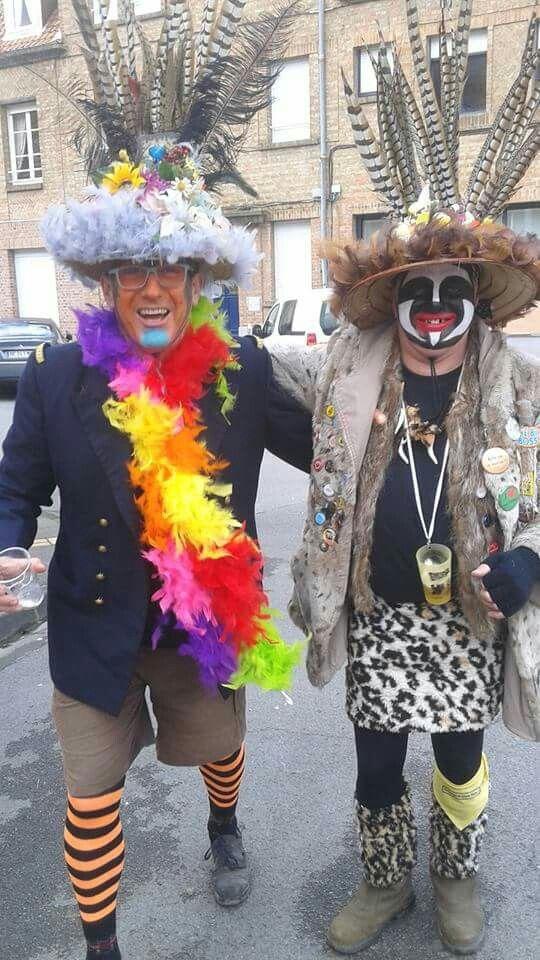 Carnaval De Dunkerque, Maquillage, Carnavals