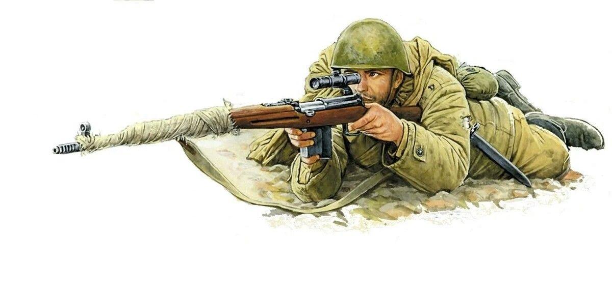 нужно военные рисунки снайпер мутность воды объясняется