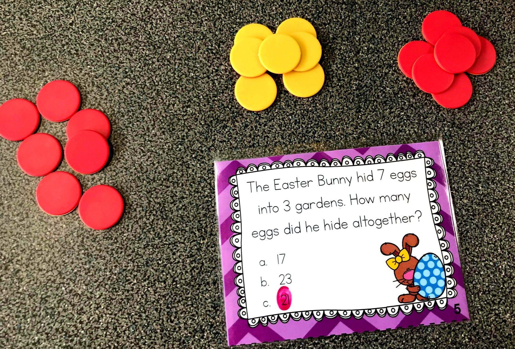 Easter Math Activities For First Grade
