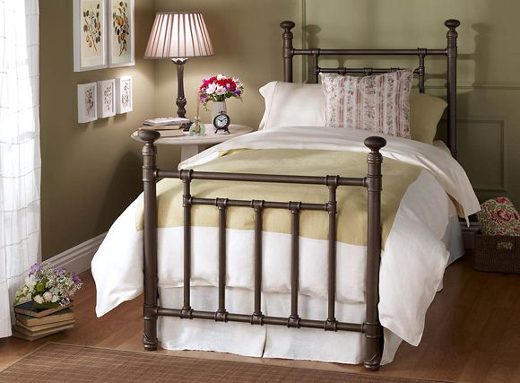 wesley allen iron bed blake xl twin sale price 57800 choice of
