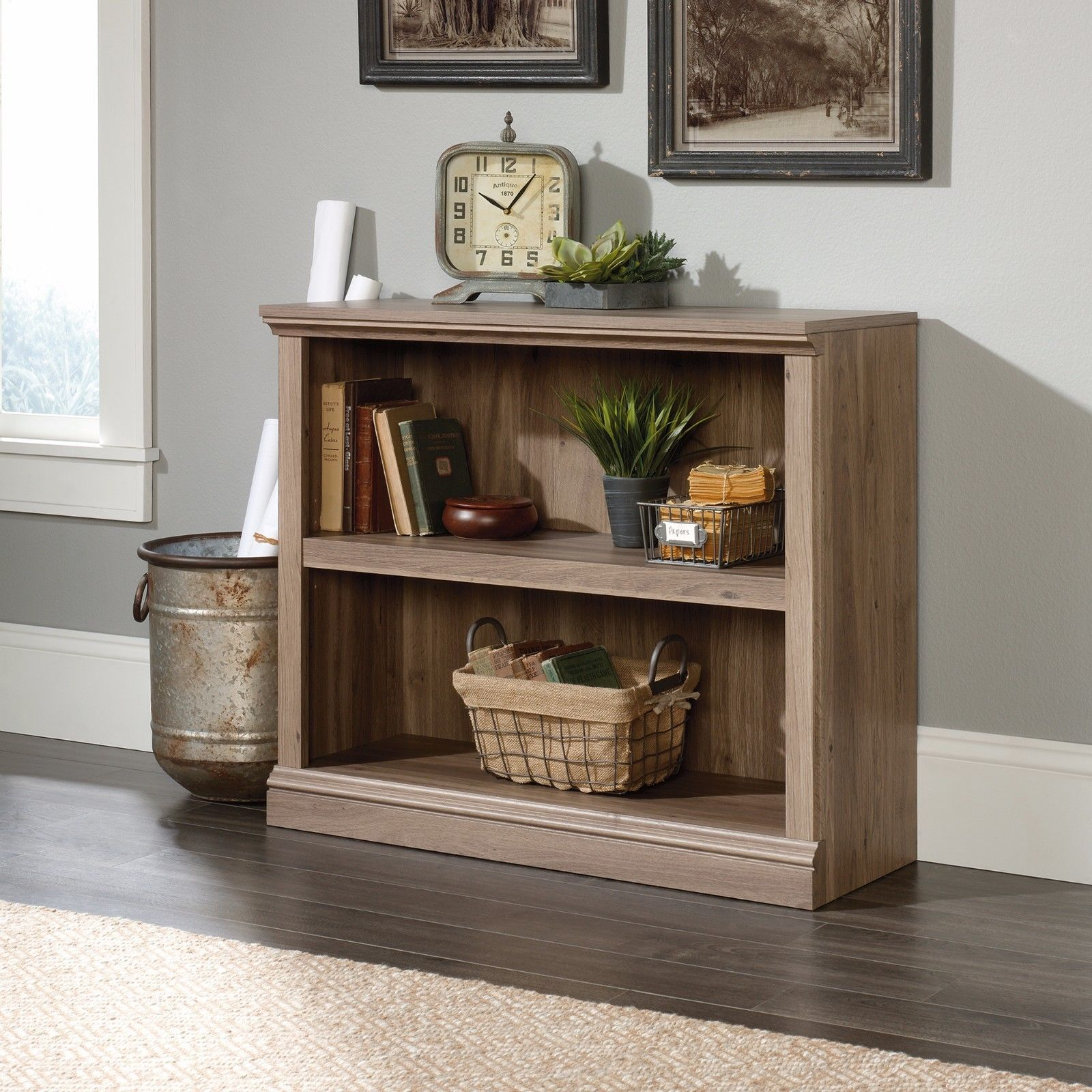 Bookcases shelf bookcase salt oak sauder select