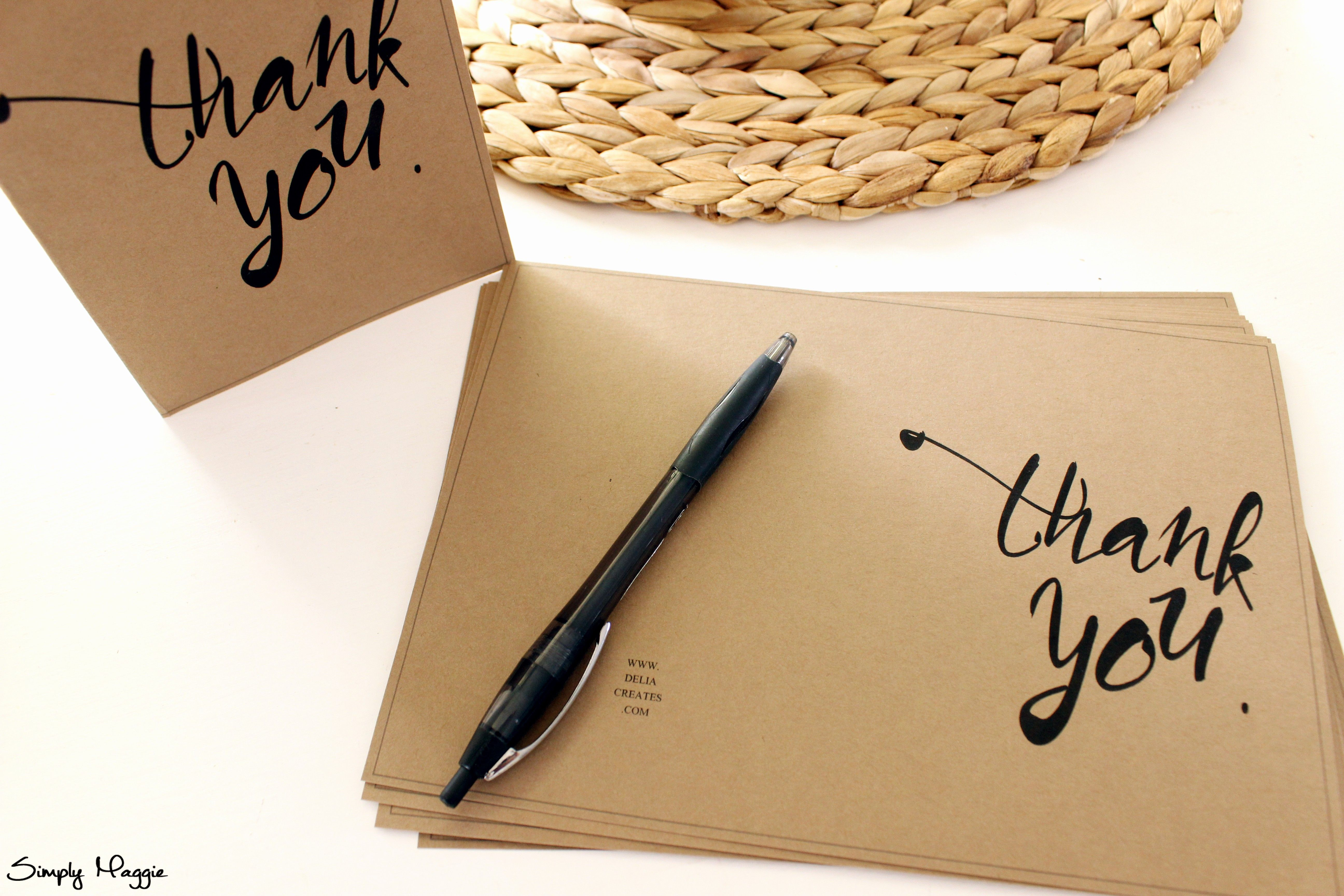 50 elegant photo thank you card template in 2020  thank