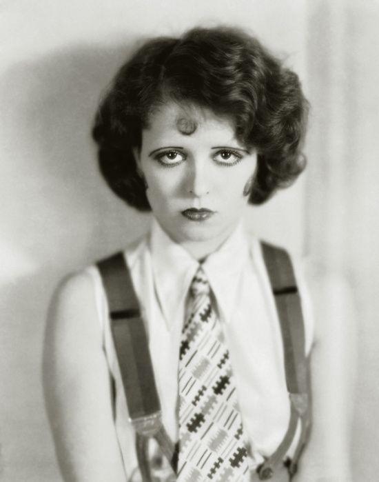 Flapper 1920s movie star Clara Bow
