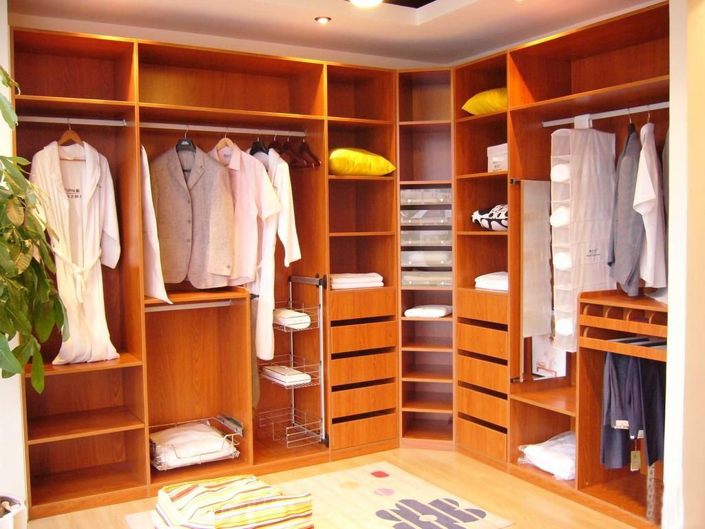 Wardrobe Furniture With Plastic Hanging Towel Storage And Iron Rack Pillow In Addition To