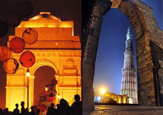 Minar mobili ~ Qutub minar lal quila and other delhi monuments just a click away