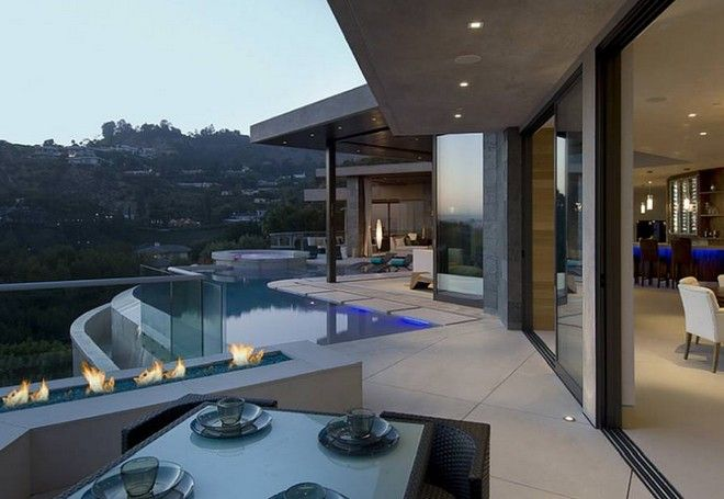 Captivating Inside Celebrity Homes: Bill Gates Mansion Tour Nice Look