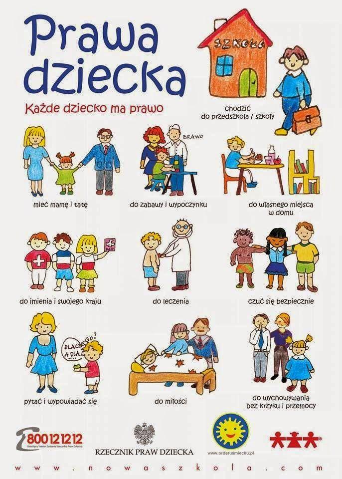 Ogólnopolski Dzień Praw Dziecka (With images) | Szkoła podstawowa ...
