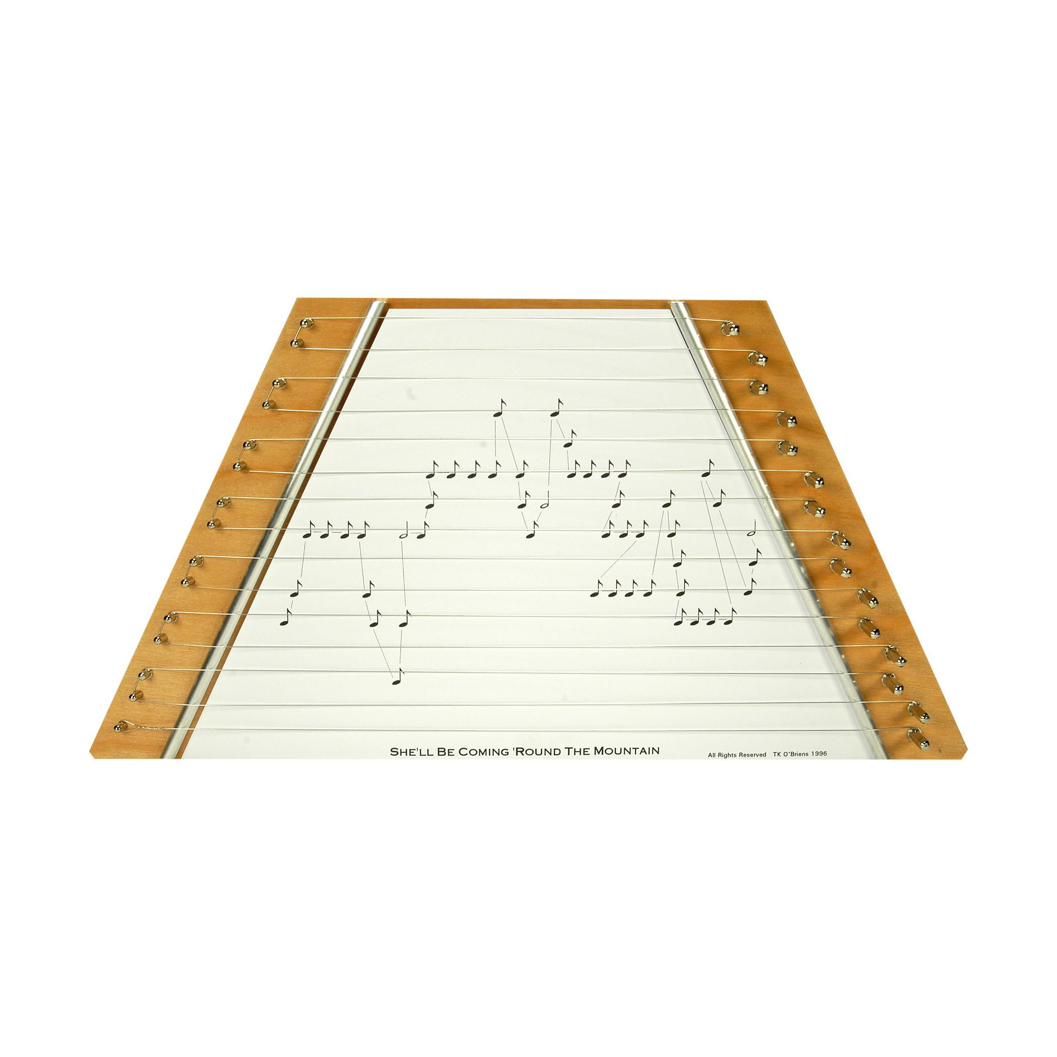 photo relating to Free Printable Lap Harp Sheet Music named Straightforward Lap Harp - Birch Wooden in just S be coming spherical the
