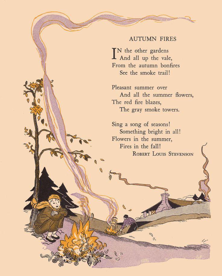 Autumn upon us