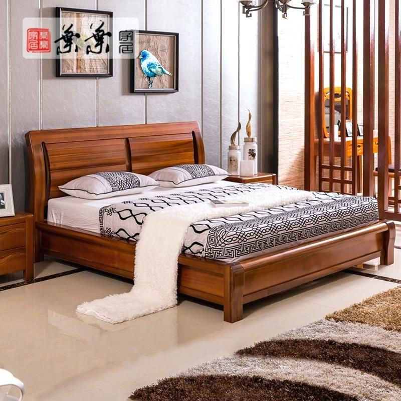 Teak Wood Bedroom Furniture Get Quotations A End Of Leaf Teak Wood Bed Storage Box High Bedchamber Modern Wo Wood Bed Design Modern Bedroom Furniture Furniture