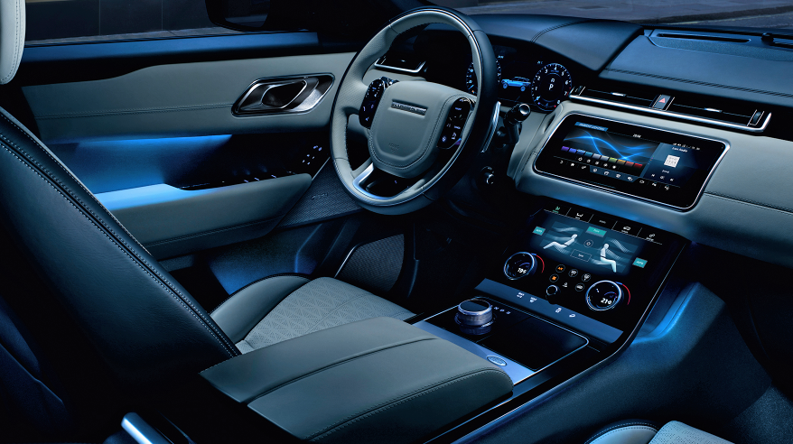 2018 Range Rover Velar interior | News Cars Report | Pinterest