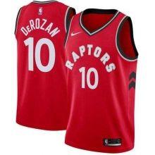 b4aa8d2af6d5 Men s Nike Toronto Raptors  10 DeMar DeRozan Red NBA Swingman Icon Edition  Jersey