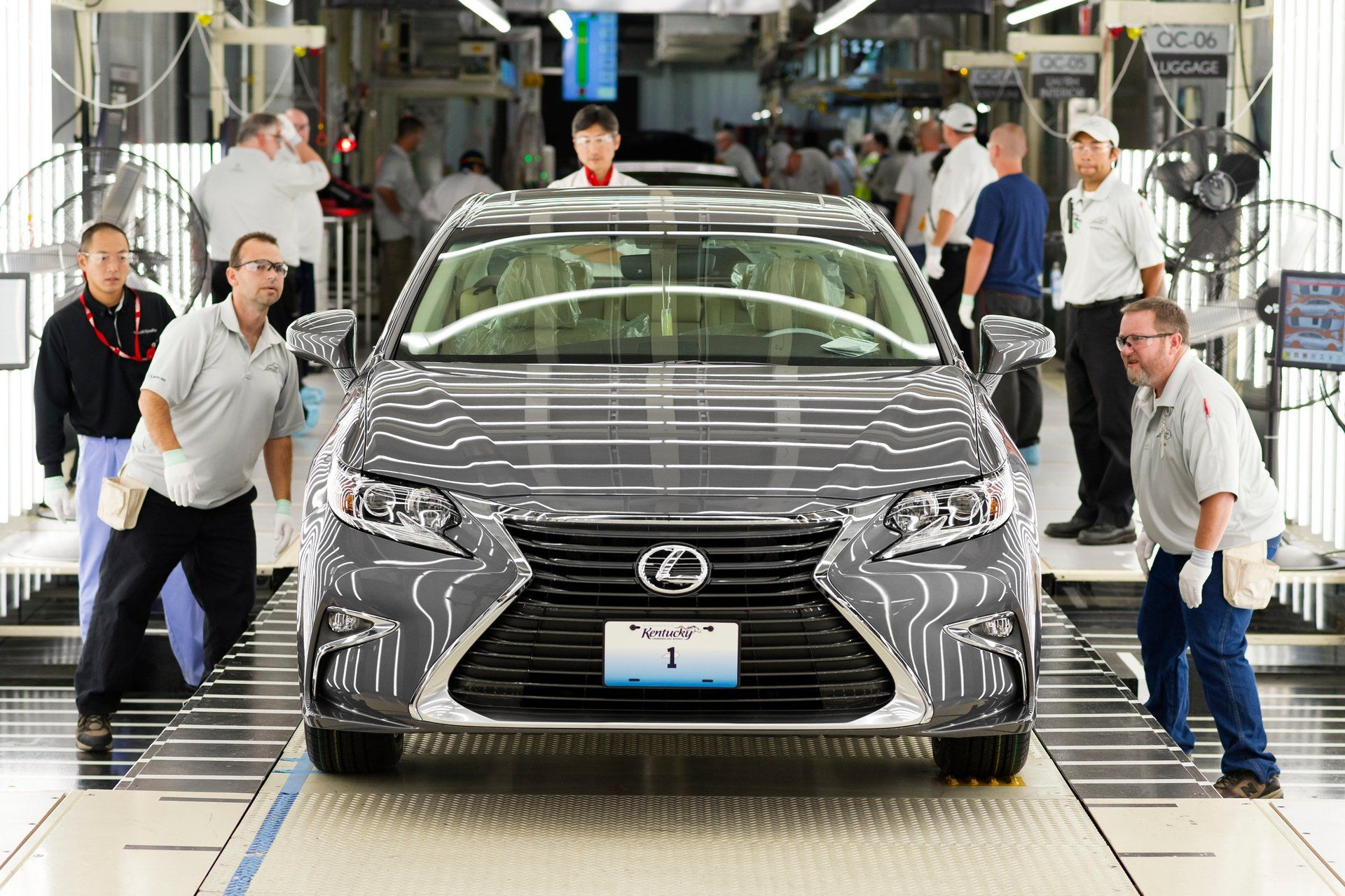 More than two million toyotas built in north america in