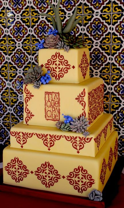 Designer cake inspired by Tlaquepaque | Sedona Series | Pinterest ...