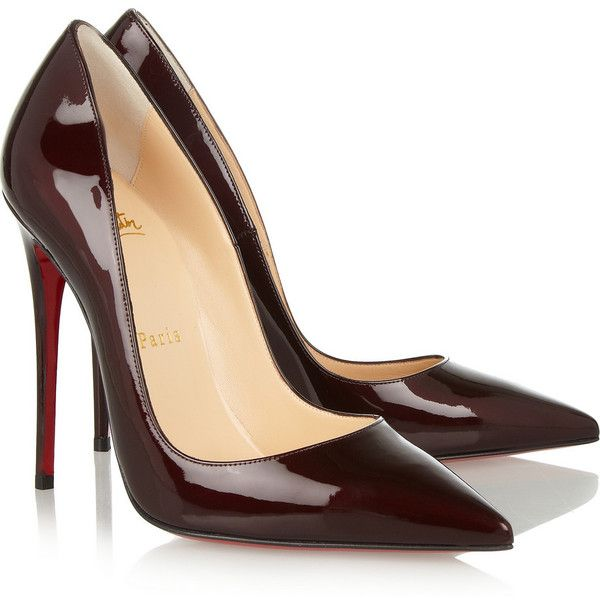 meet 4c55b 2ab5b Christian Louboutin So Kate 120 patent-leather pumps (£465 ...