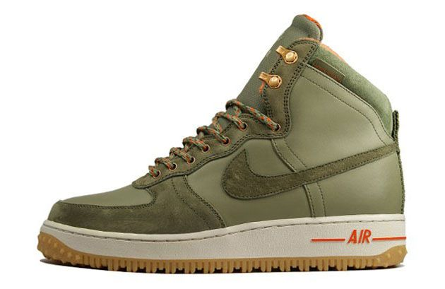 nike air force 1 high hombre olive
