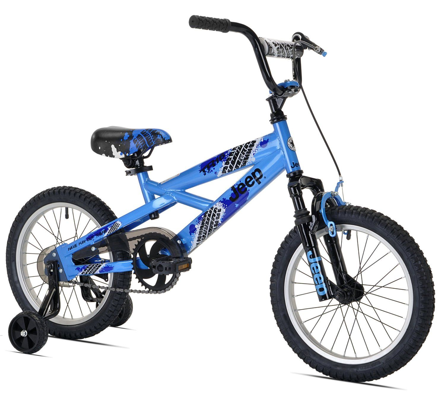 Amazon Com Jeep Boy S Bike 16 Inch Childrens Bicycles