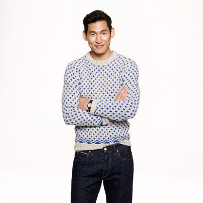 For me, not him. Erskine Fair isle sweater - sweaters - Men - J ...