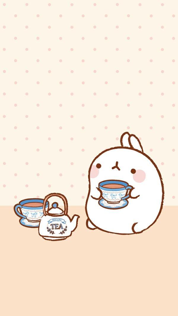 Tea time with molang kawa pinterest d coration for Decoration chambre kawaii