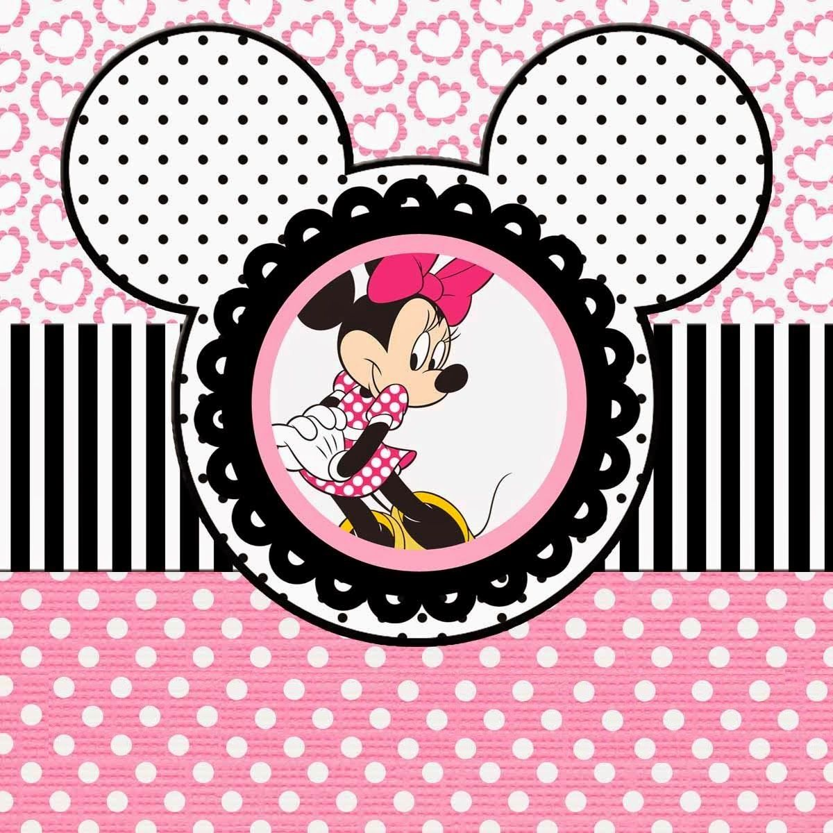 Funny Pink Minnie Mouse Free Printable Kit. | Oh My Fiesta ... - photo #43