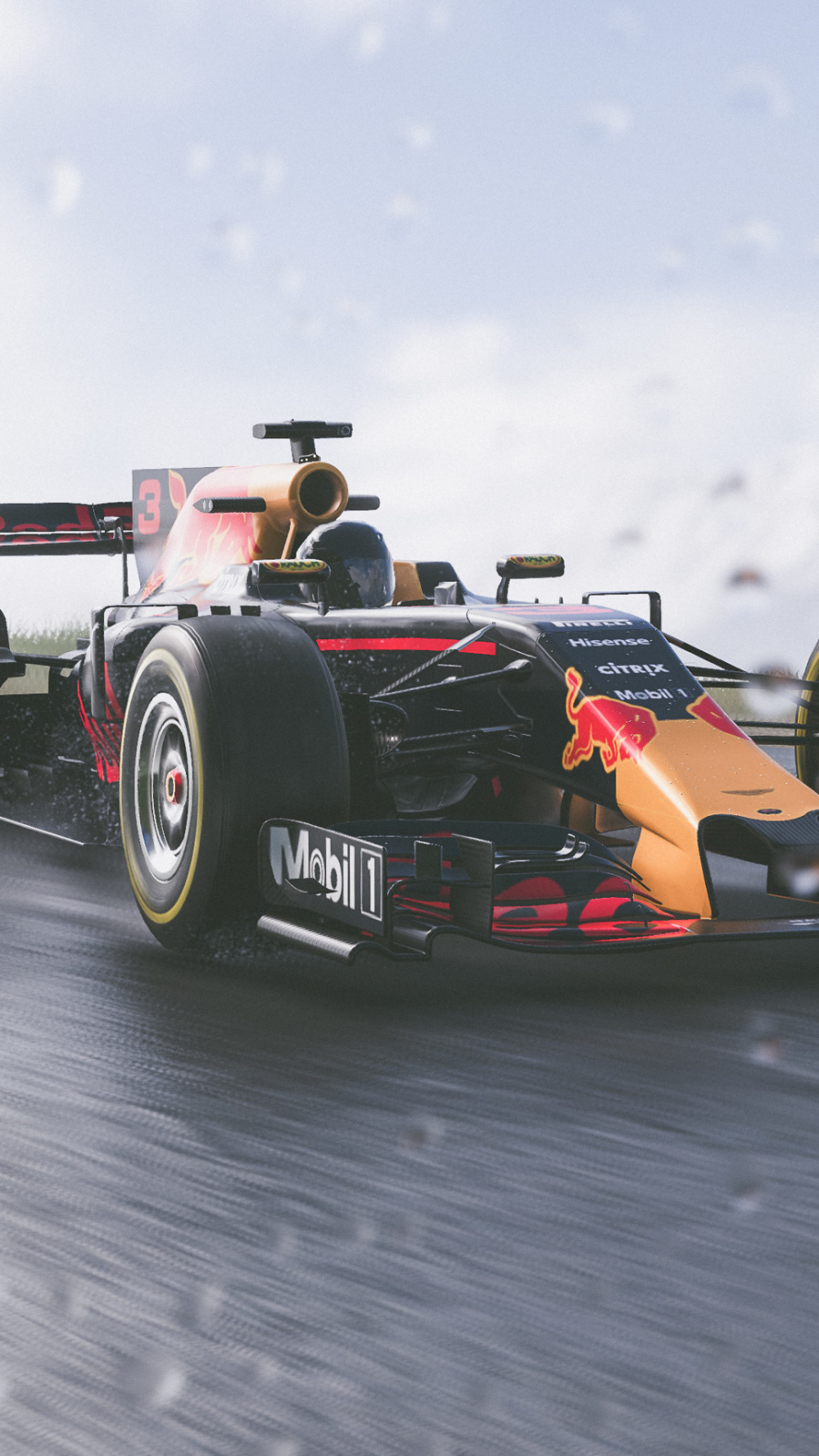 The Crew 2 Red Bull F1 Car 4k In 1080x1920 Resolution ...