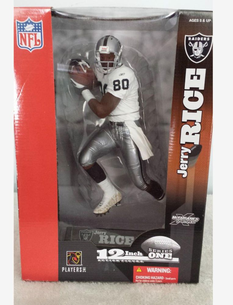 McFarlane NFL 12 Oakland Raiders Jerry Rice 12 Inch Action