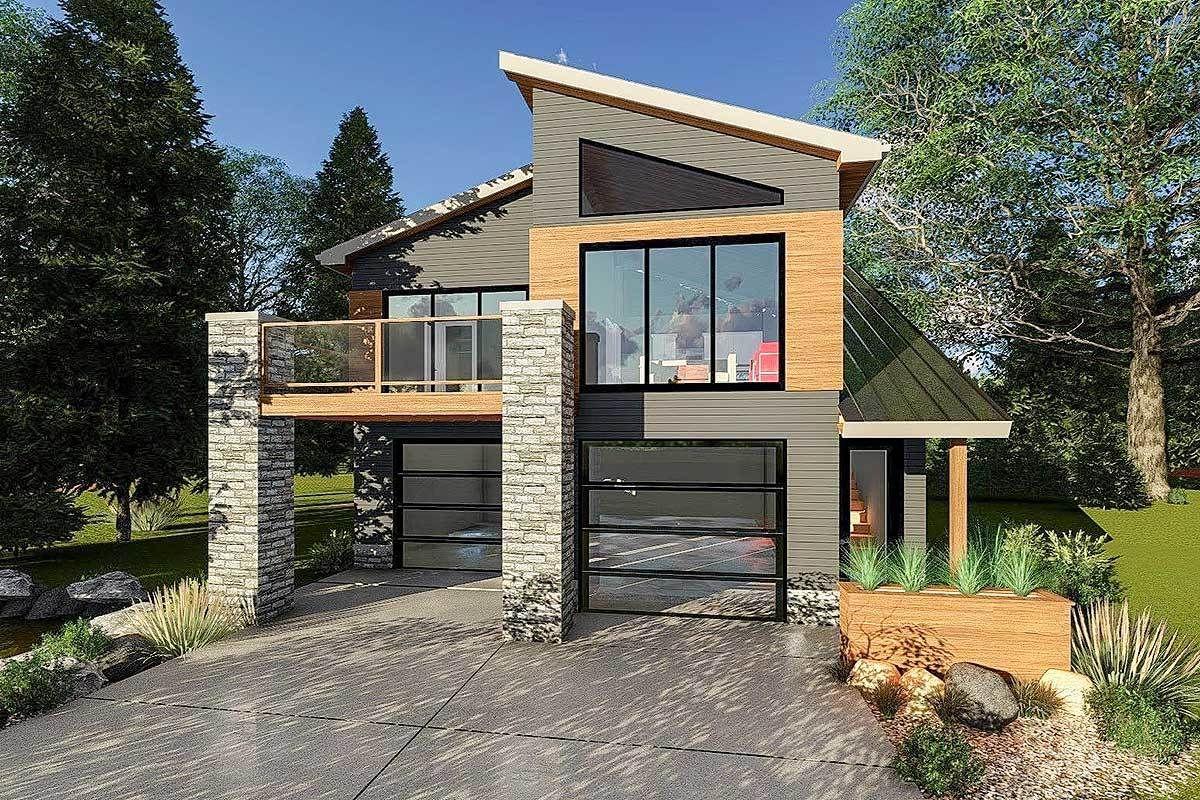 50 Lovely Modern Small House Design Ideas Modern Tiny House Country House Design Contemporary House Plans