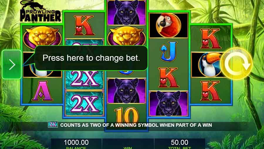 Prowling Panther Free Slots Machine Play Online Slots