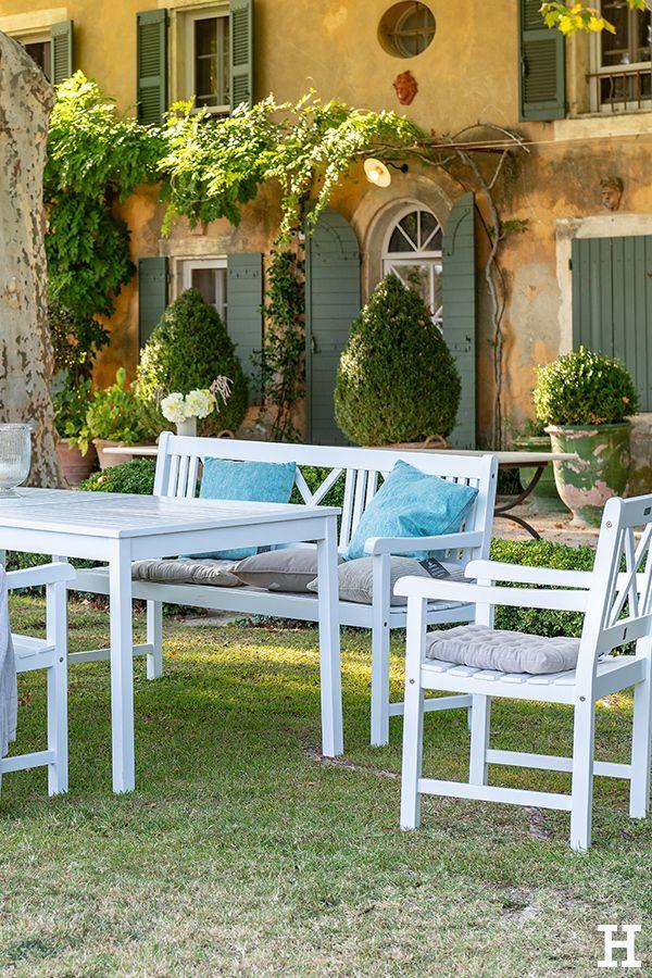 Mediterranes Feeling in weiß. Was für schöne, helle ...