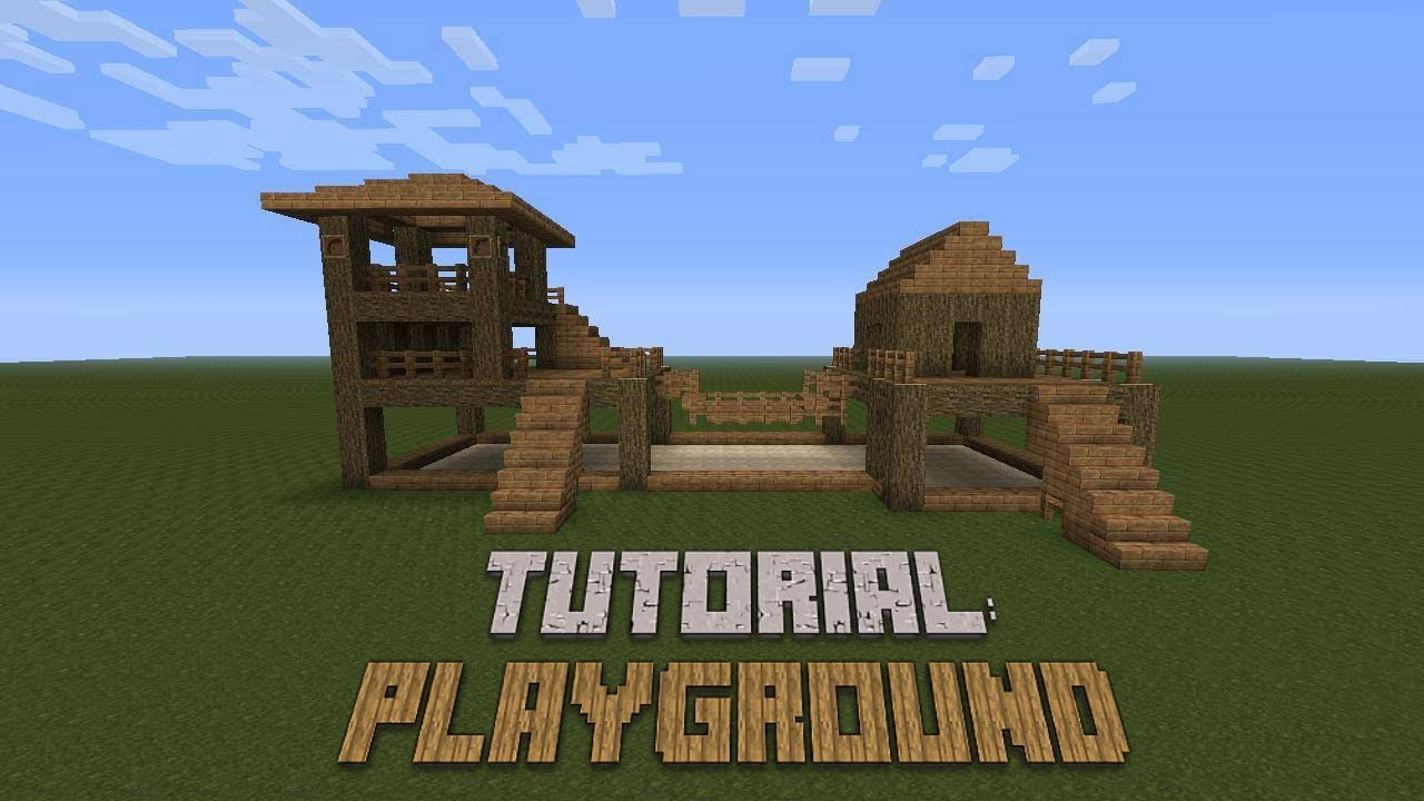 Minecraft how to build a playground tutorial minecraft minecraft how to build a playground tutorial baditri Images