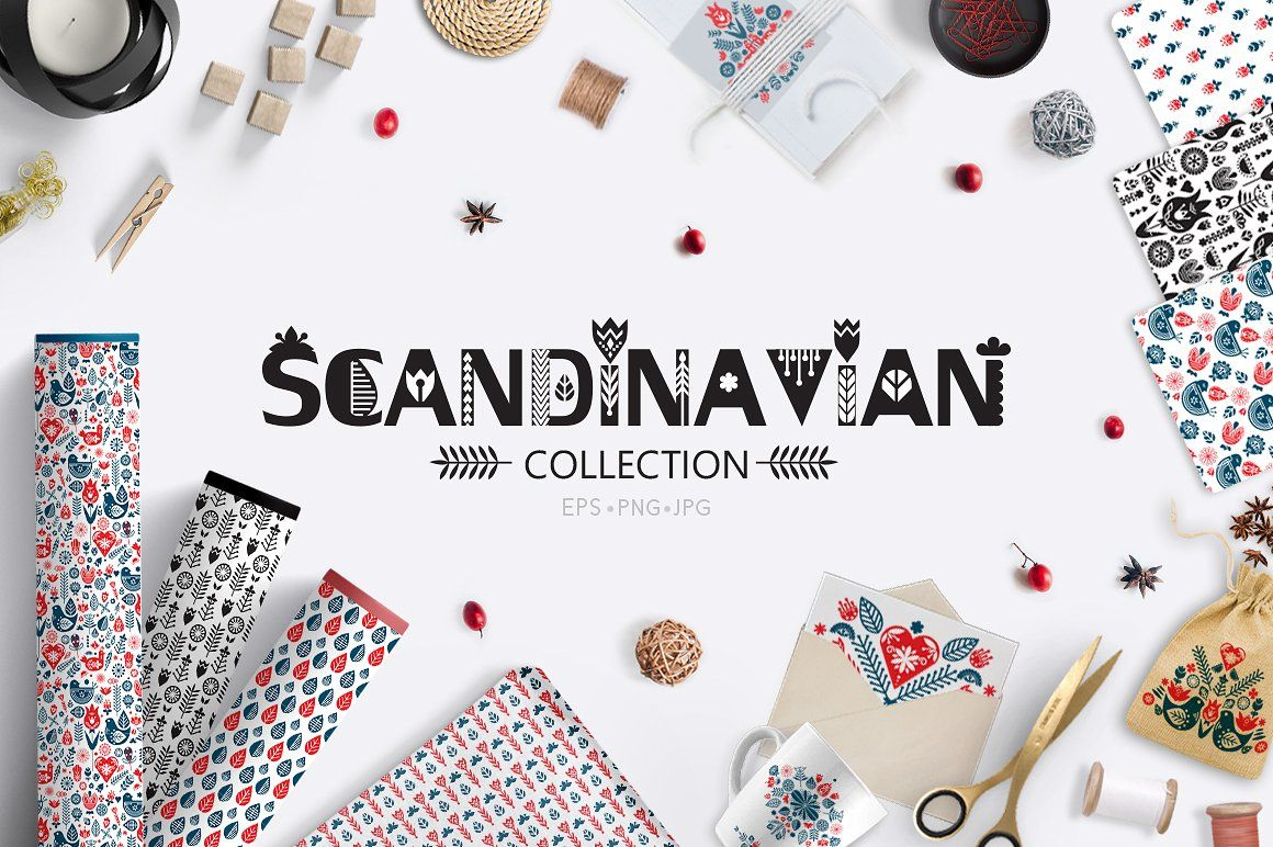 ❖Scandinavian collection❖ - This pack can be used to create ...