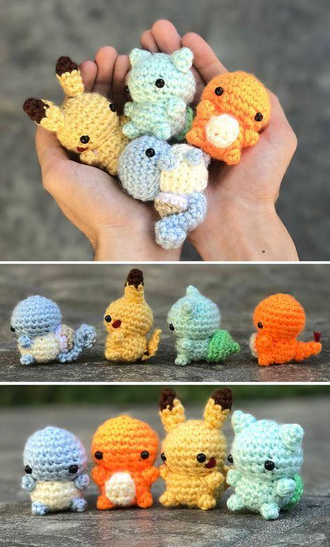 Pokemon Amigurumi | agurimi | Pinterest | Muñecos de ganchillo ...