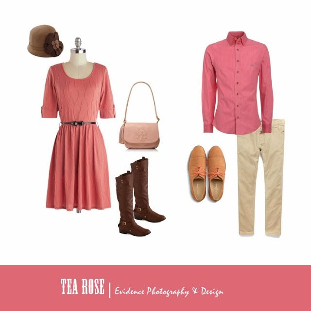 What to Wear | Tea Rose Color Inspiration | Seattle Portrait Photography