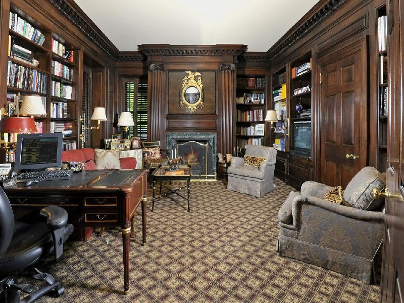 Victorian Office Decor