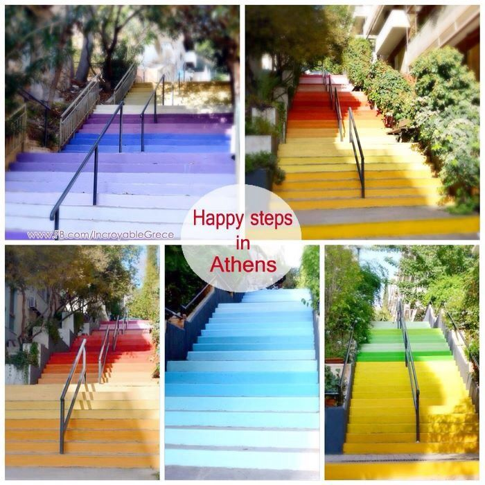 Athenian Happy Steps-  Http://www.facebook.com/incroyablegrece