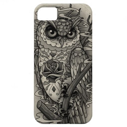 Vintage look Owl iPhone 5 Case