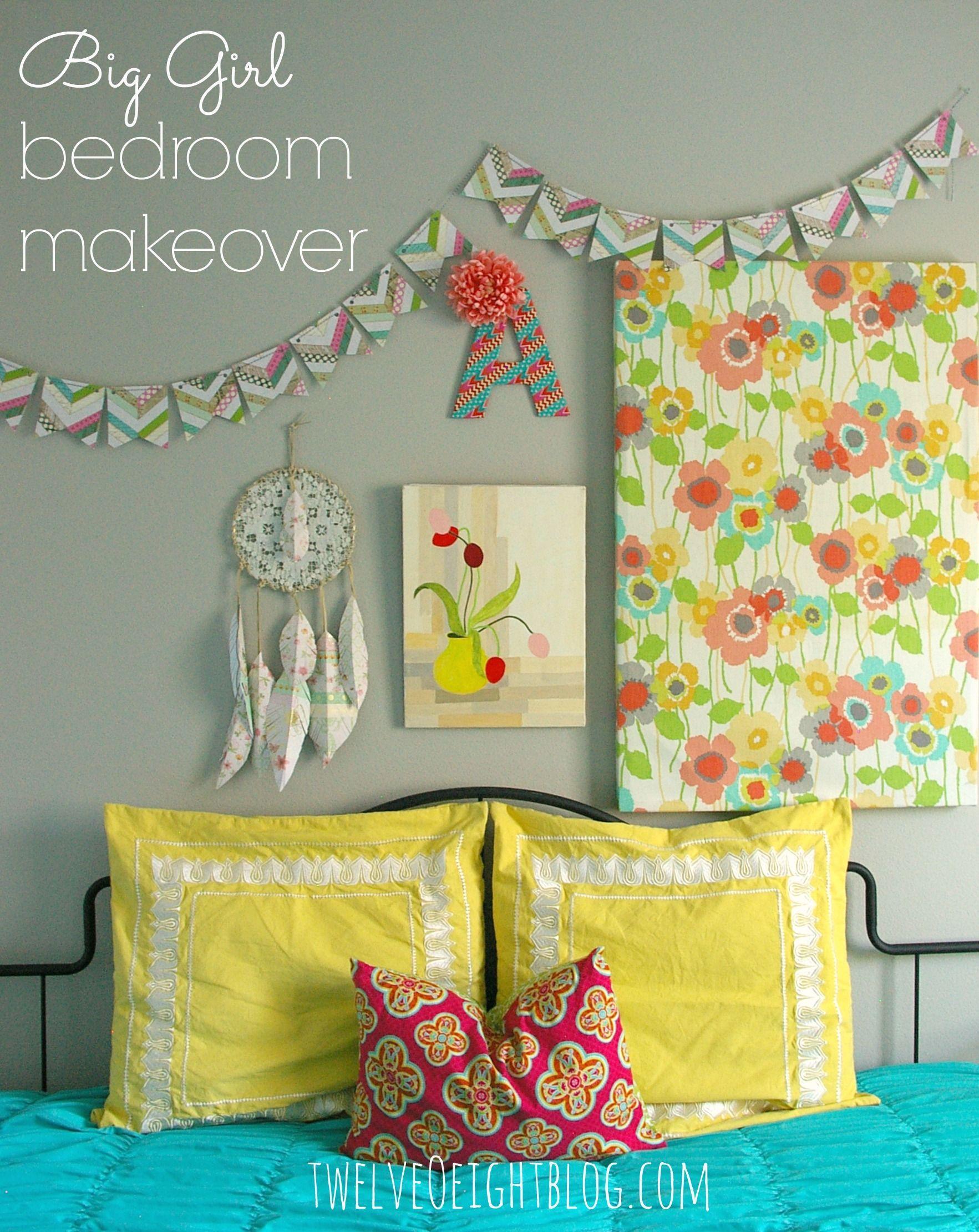 lemon yellow + hot pink + sea glass blue + grey walls   home etc ...