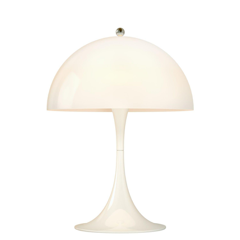 Opal Acrylic Led Table Lamp Table Lamp Copper Table Lamp