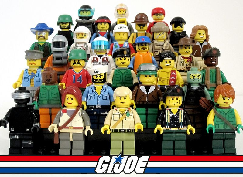 STORM SHADOW GI JOE Custom Printed /& Inspired Lego Minifigure