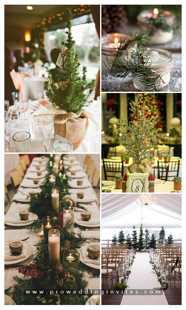 Christmas Theme For 2020 Gorgeous Christmas Wedding Ideas and Invitations for 2020 in 2020