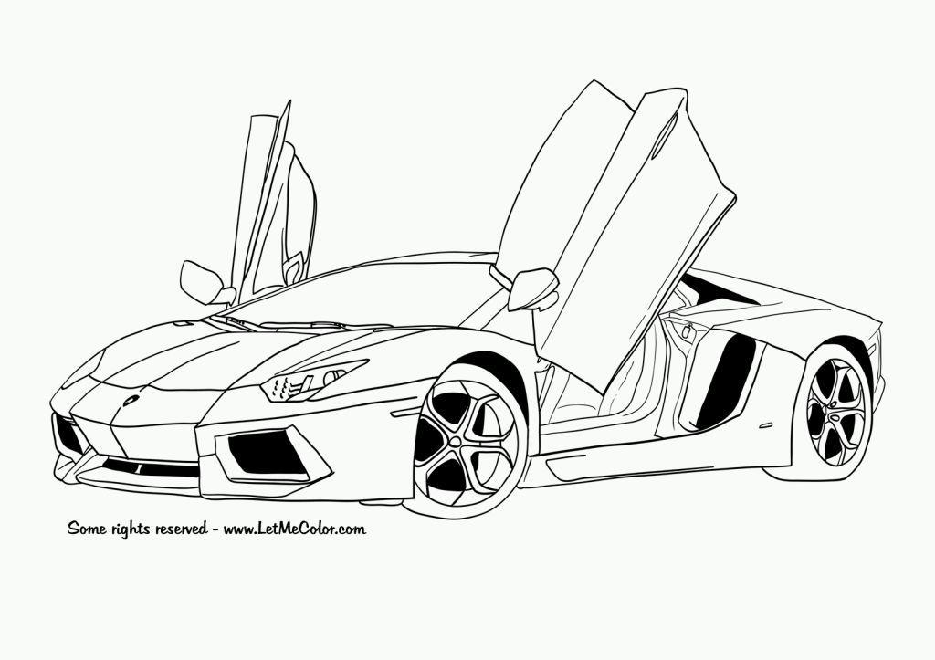 Car Coloring Games Mobil Balap Kartun Mobil