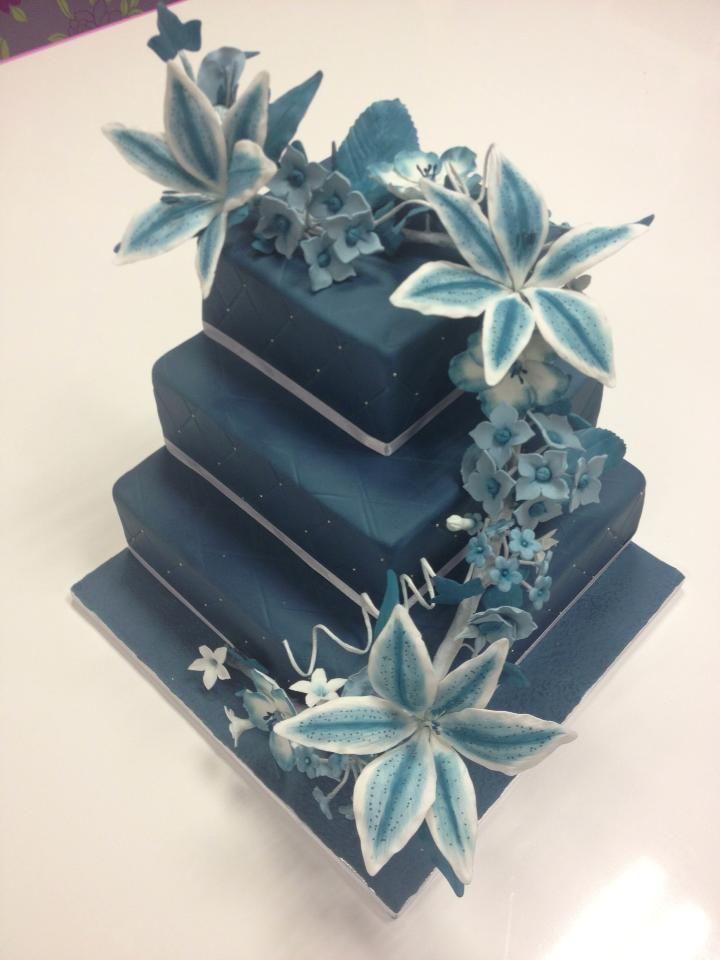 pastel con flores wilton 4