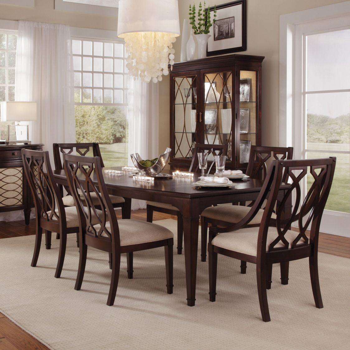 Dark Wood Dining Room Chairs Adorable Dark Wood Dining Room Chairs  Best Master Furniture Check More At Design Ideas