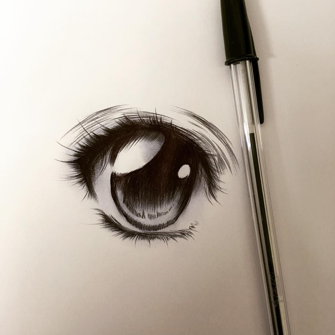 Marc Ulloa Artofmarculloa On Instagram Ballpoint Pen Eye