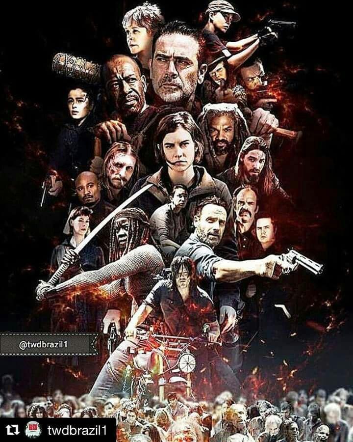 9 Days Twd Season 8 The Walking Dead Poster Walking Dead