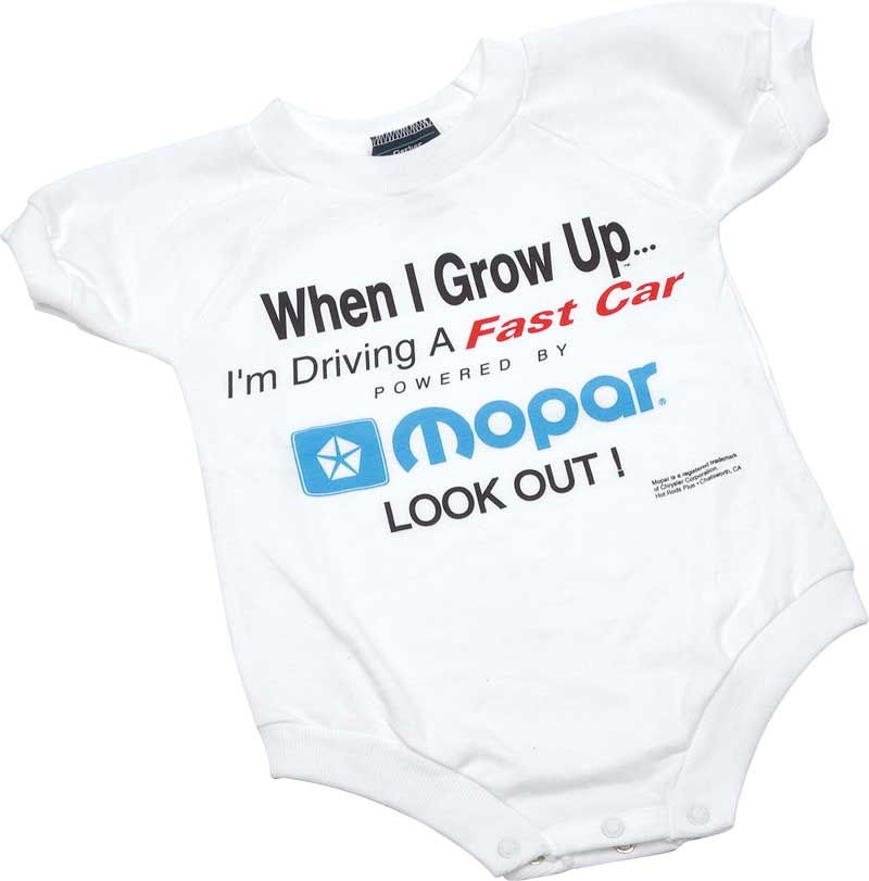 8e72ed923 When I Grow Up Mopar Logo Kids Onesie 12 Month | For Baby G ...