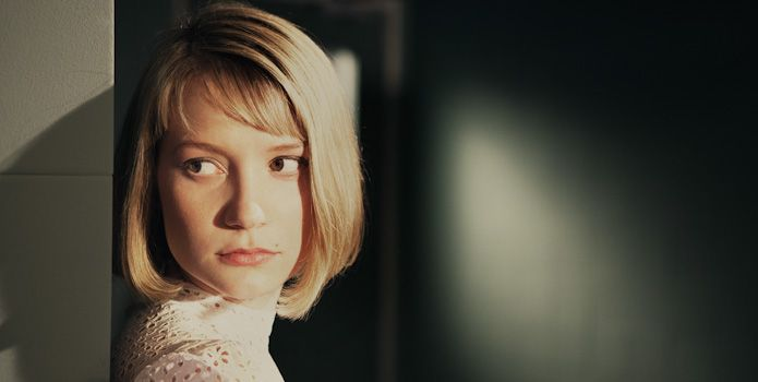 THE DOUBLE First Look At Jesse Eisenberg \ Mia Wasikowska Movie - double first