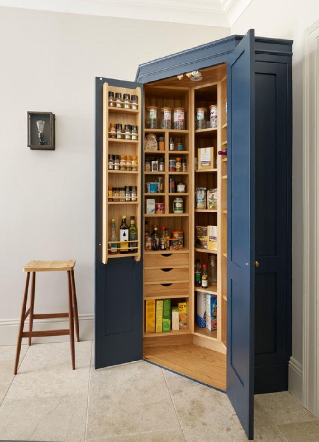 awesome bathroom cabinet storage ideas | Awesome Farmhouse Kitchen Storage Ideas 05 ...