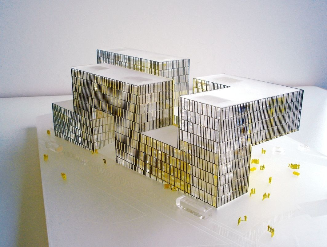 Image 18 of 20 from gallery of CITE DES AFFAIRES IN SAINT-ETIENNE / Manuelle Gautrand Architecture. Model