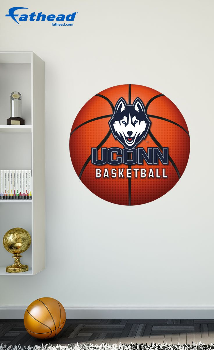 Our Uconn Huskies Basketball Logo Fathead Wall Decal Is Perfect For